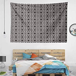 HuaWuChou Arabic Moroccan Star Tapestry Wall Decor, Tapestry Art for Bedroom, 36W x 24L Inches