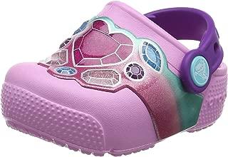 Crocs Kids' Fun Lab Light-up Girls Graphic Clog