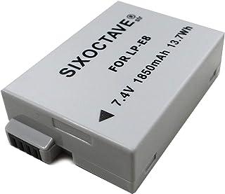 [SIXOCTAVE] [最新ICチップ搭載] Canon キヤノン LP-E8 互換バッテリー [ 大容量グレードAセル使用 純正品と同じよう使用可能 純正充電器で充電可能 残量表示可能 ] イオス EOS Kiss X4 / EOS Kis...