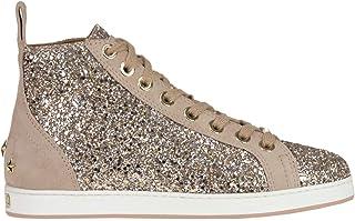 JIMMY CHOO Luxury Fashion Womens MCGLCAK000006009I Pink Hi Top Sneakers | Season Outlet