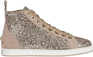 JIMMY CHOO Luxury Fashion Womens MCGLCAK000006009I Pink Hi Top Sneakers   Season Outlet