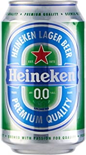 Heineken 00 Cerveza - Caja de 24 Latas x 330 ml - Total: 7.92 L