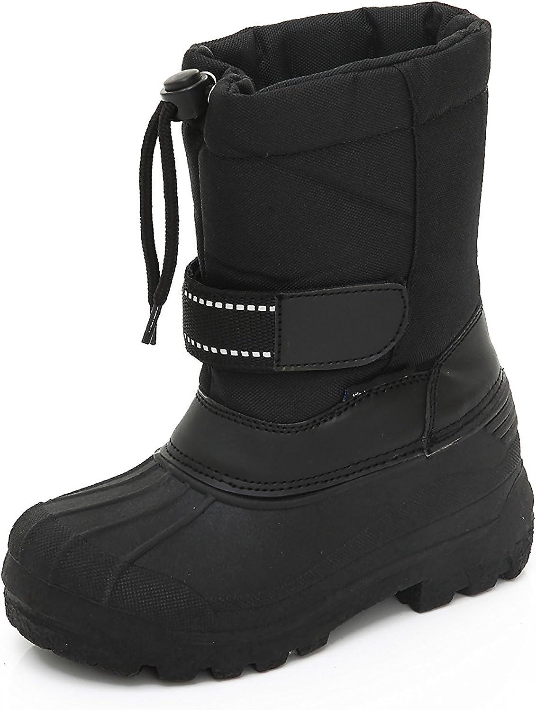 Unisex Kids Winter Snow Boots Insulated Toddler//Little Kid//Big Kid