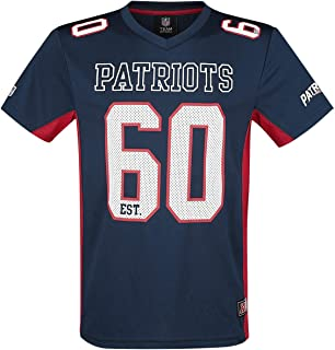 NFL New England Patriots Camiseta Azul Marino