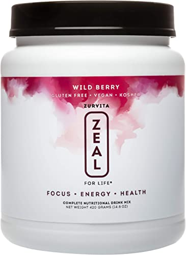 Zurvita Zeal for Life 30 Day Wellness Canister, 420 Grams, Wild Berry product image