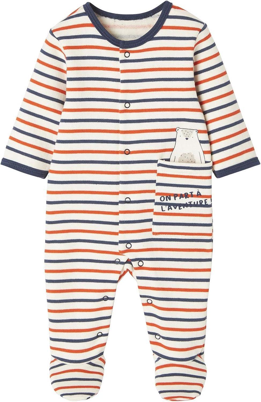 Vertbaudet Baby Strampler /Öffnung vorn