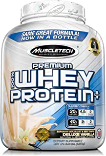 Premium Whey Protein Muscletech 5lbs Vainilla