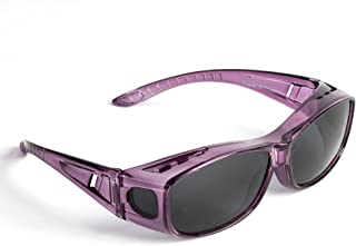 Sunglasses Over Glasses- Polarized Fitover Sunglasses with 100% UV Protection For Men or Women - By Pointed Designs- Style 1