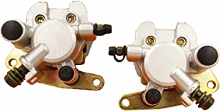 Key-Sun Front Brake Caliper Set For Yamaha Grizzly 600 YFM600F 1998-2002 With Pads L&R