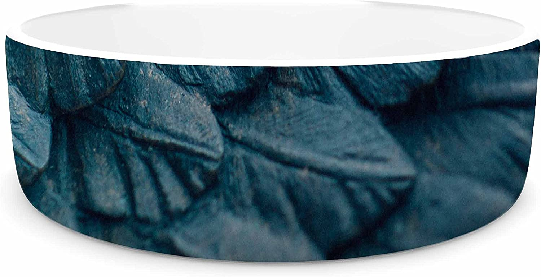 KESS InHouse Ann Barnes Ombre Angel  bluee Celestial Pet Bowl, 7