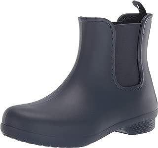 Crocs Women's Freesail Chelsea Waterproof Rain Easy on Ankle Boot