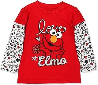 Elmo Girls Long Sleeve Tee (Baby/Toddler)