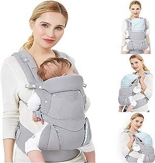Happy Cherry Ergonomische Babytrage Universal Baby Taille Hocker Bauchtrage mit H/üftsitz Breiten Schultergurt