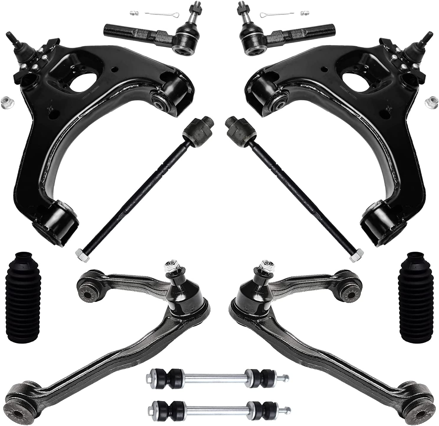 Detroit Axle - mart 2WD Front Max 44% OFF Control Arms + Rods Joints w Ball +Tie