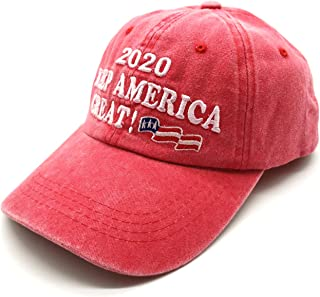 Waldeal Embroidered Unisex Make America Great Again Denim Hats MAGA Baseball Cap