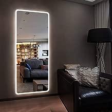 H&A Full Length Large Led Floor Mirror - 65