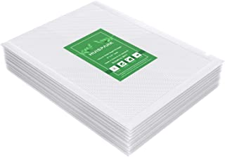 Huispark Sacs sous Vide, 15×20cm pour la conservation des aliments et la cuisson sous vide, Gaufrés Sans BPA et approuvé F...