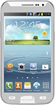 Qawachh® Brand Tempered Glass For Samsung Galaxy Grand Quattro i8552 Silver Colour With Wipes Kit