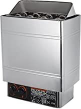 SucceBuy Poêle électrique pour Sauna 8kw/9kw Poêle De Sauna avec Contrôle Thermostatique Intégré Sauna Poêle Électrique 38...