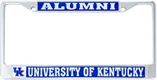 Desert Cactus University of Kentucky Alumni Metal License Plate Frame for Front Back of Car Officially Licensed UK Wildcats (Alumni)
