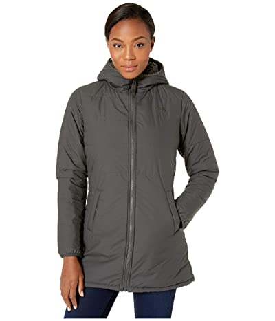The North Face Merriewood Reversible Parka (Asphalt Grey) Women