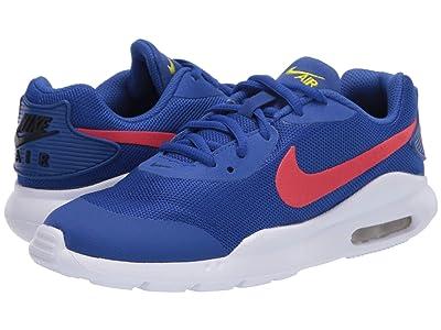 Nike Kids Air Max Oketo (Big Kid) (Hyper Blue/Track Red/Black/Bright Cactus) Kids Shoes
