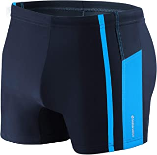 Sesto Senso Mens Swim Aquashorts Swimming Trunks Drawstring Beach Swimwear Shorts