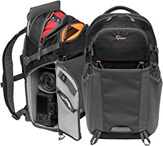 Lowepro Photo Active BP 200 AW Backpack, Black/Dark Gray