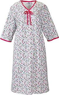 Womens Adaptive Hospital Gown Open Back Regular and - Owl Print MED