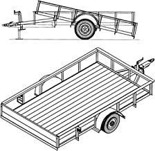 Best tilt utility trailer plans Reviews