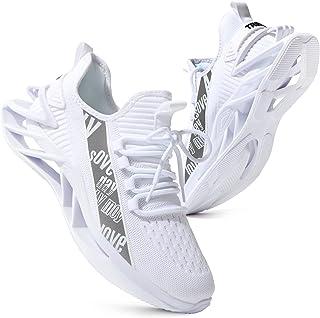 أحذية رجالية من kokib لممارسة الرياضة والجري والمشي شبكة خفيفة الوزن وجيدة التهوية لممارسة رياضة الركض أزياء رياضية
