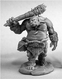 مینیاتورهای دروگر Ogre Guard # 77456 استخوان های پلاستیکی D&D RPG Mini شکل