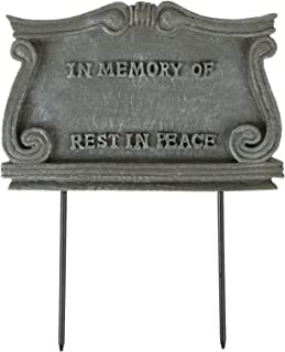 Trenton Gifts Pet Monument Plaque | Stone-Look Weather Resistant Marker | By