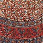 Block-Print-Red-Round-Tablecloth-72-inches-for-Dining-and-Kitchen-Vegetable-Dye-Cotton-Floral-Rectangle-Table-Linen