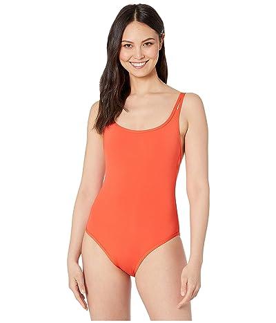 JETS SWIMWEAR AUSTRALIA Jetset Double Strap One-Piece Swimsuit (Tangelo) Women