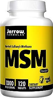 Jarrow Formulas, MSM,关节骨支持, 1000mg, 120粒