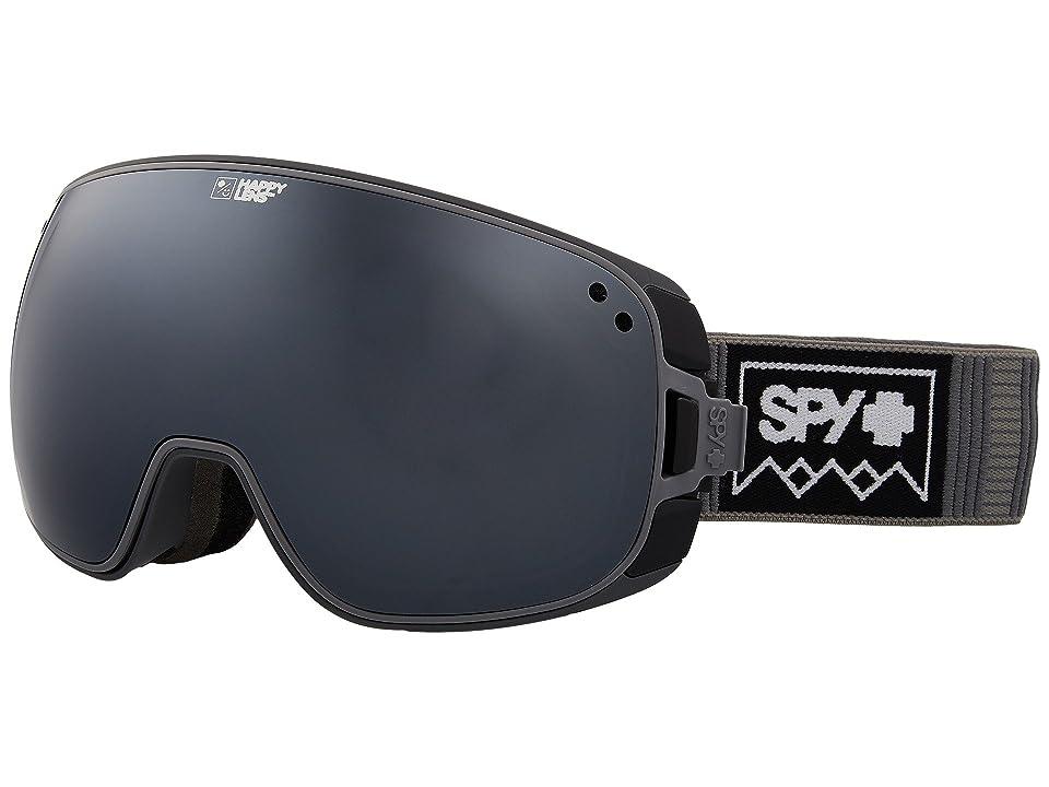 Spy Optic Bravo (Deep Winter Gray/Happy Gray Green/Silver Sepctra/Happy Yellow/Lu) Snow Goggles
