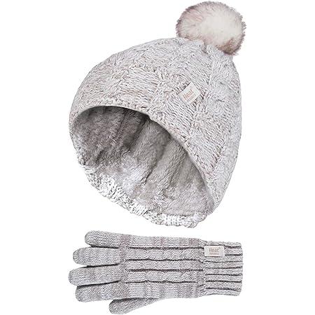 Heat Holders Girls Diamond Hat /& Glove Set