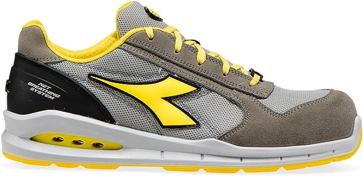 scarpa da lavoro bassa utility diadora - run net airbox low s1p src per uomo e donna 1000956
