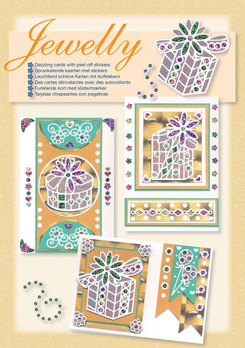 Jewelly Presents Jewellery Kit for Scrapbooking, Set of 3