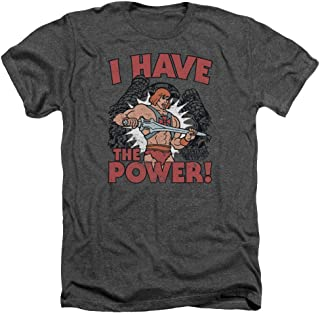 Masters of The Universe Animated TV He-Man Have The Power Adult HA T-Shirt