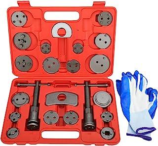KUNTEC 24pcs Disc Brake Piston Caliper Compressor Wind Back Rewind Tool Set for Brake Pad Replacement Reset