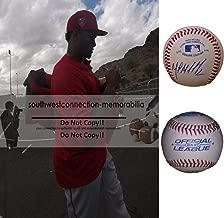 Martin Maldonado Kansas City Royals Autographed Hand Signed Baseball with Exact Proof Photo of Signing, Milwaukee Brewers, Los Angeles Angels, Houston Astros, COA
