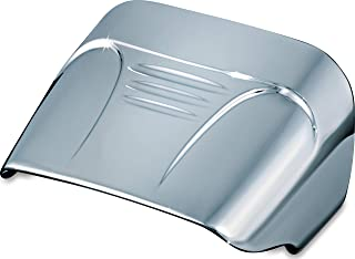 Kuryakyn 9008 Motorcycle Accent Accessory: Taillight Cover without Slots for 1973-2019 Harley-Davidson Motorcycles, Chrome
