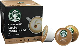Starbucks® Latte Macchiato by Nescafé® Dolce Gusto® 12 Capsules