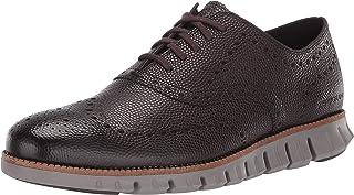 حذاء زيروجراند وينغ للرجال من كول هان مصنوع من جلد الثور بنمط اكسفورد