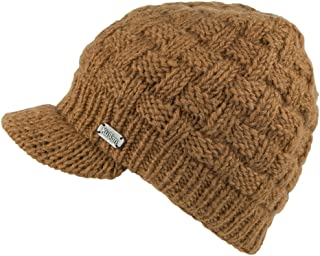Gorro Beanie Basket Weave de Kusan - Caramelo