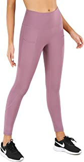 High Waist Yoga Pants with 3 Pockets for Women Workout Pants Tummy Control 4 Way Stretch Yoga Leggings
