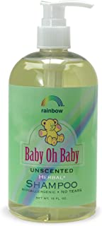 Rainbow Research Baby Oh Baby Shampoo, Unscented 16 oz