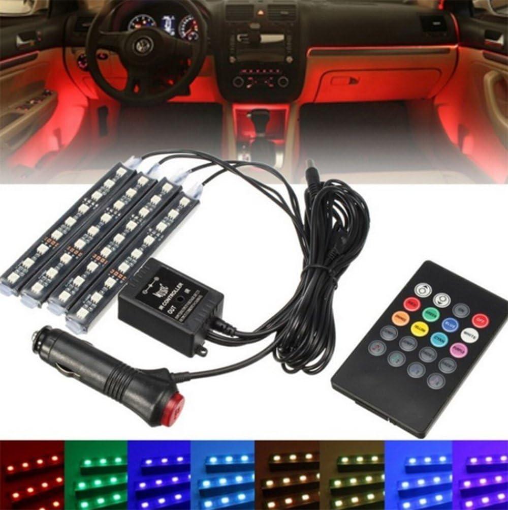 Regular store JKLcom Car Very popular! LED Lights Interior DC 12V 4pcs 36 Mul